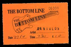 Ticket from The Bottom Line