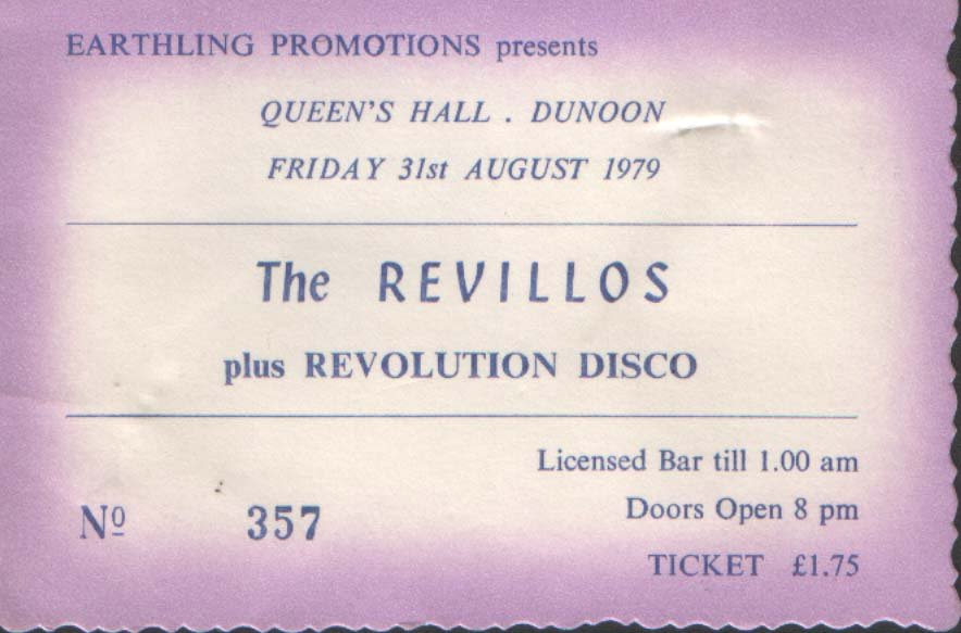 Ticket from Dunoon
