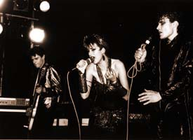 The EMI years - Playing at The Venue, London, 1984